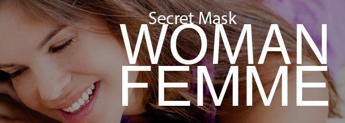 cosmétique Vegan Secret Mask pour femme