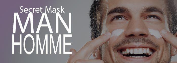 cosmétique Vegan Secret Mask pour homme
